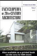 دانلود کتاب معماری : دایرت المعارف معماری قرن بیستم (جلد اول)