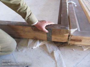 دربهای بزرگ چوبی