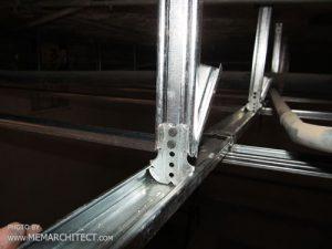 زیر سازی سقف کناف 2