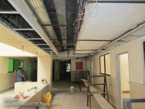 زیر سازی سقف کاذب
